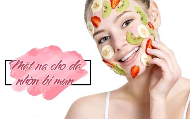 mặt ạn cho da dầu bị mụn hiệu quả