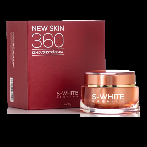 Kem dưỡng trắng da mặt cho nam ngày và đêm Swhite Newskin 360