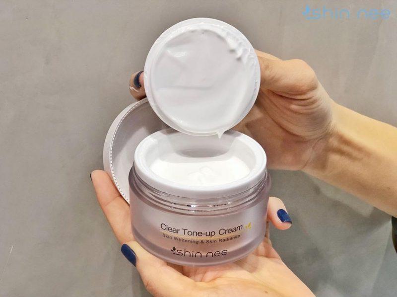 Shin nee Clear Tone up Cream - kem dưỡng trắng cao cấp nâng tone da Hàn Quốc