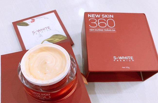 Kem dưỡng da ban đêm cho da khô Face Newskin 360 Swhite