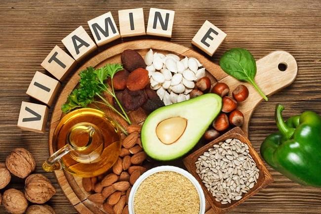 vitamin e co tac dung cho lan da khoe manh